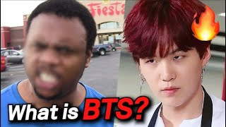 Download lagu How BTS SUGA Reacts to a Guy Threatening Jin