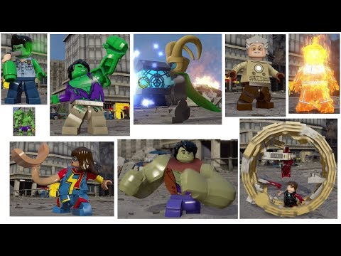 Every Character Transformation In LEGO MARVEL's Avengers