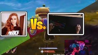 La Mejor JUGADORA 1 Vs 1 El Mejor JUGADOR De EUROPA! Ninja Descubre El Nuevo Mejor Battle Royale