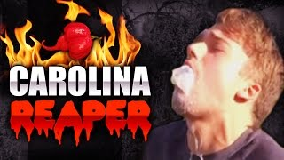 THE CAROLINA REAPER CHALLENGE - THIS IS WRONG!
