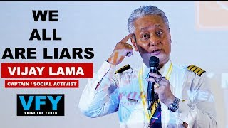 Amazing Nepali Pilot Story Vijay Lama || we all are liars || Voice For Youth with Dashrath Sunar