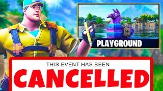 the REAL reason Playground Mode was CANCELLED in Fortnite... | Chaos