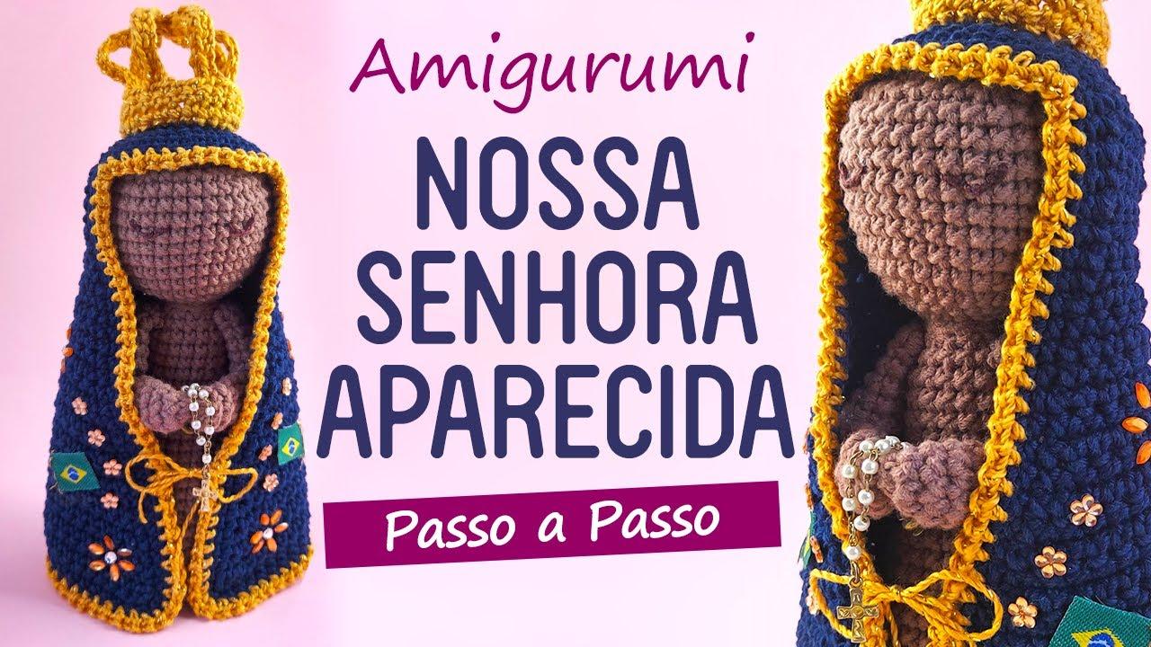 Santa Rita de Cássia em dose dupla e Santo Antônio abençoando o final de  semana que está chegando! . . . Pattern Márcia Scarpelli e Karina Peres  #crochet #amigu… | Rita de | 720x1280