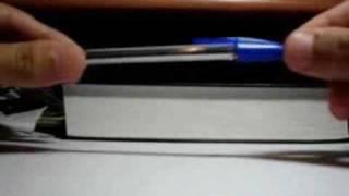 Фокус с ручкой и колпачком