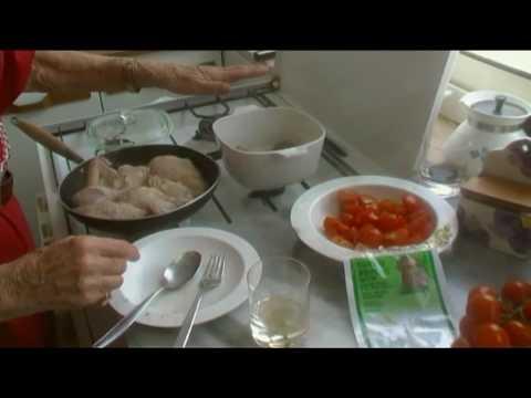 Lezione 38 Pollo alla Cacciatora  Cucina Napoletana di