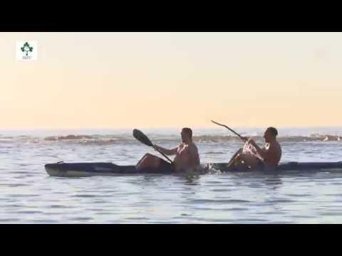 Irish Rugby TV: Ultan & Donnacha Go Canoeing