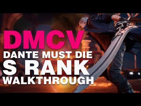 Devil May Cry 5 Dante Must Die S Rank Walkthrough / Mission 8: Demon King thumbnail