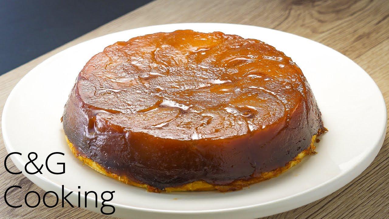 【タルトタタン】本格タルトタタンの作り方 | お菓子作り タルトタタン りんごのタルト asmr