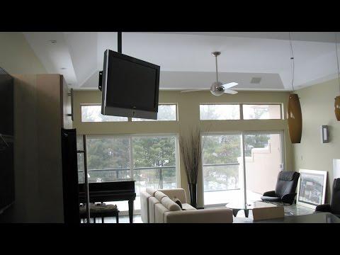 Ceiling Tv Installation