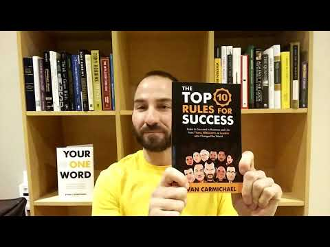 Top Ten RULES For SUCCESS Book Journey