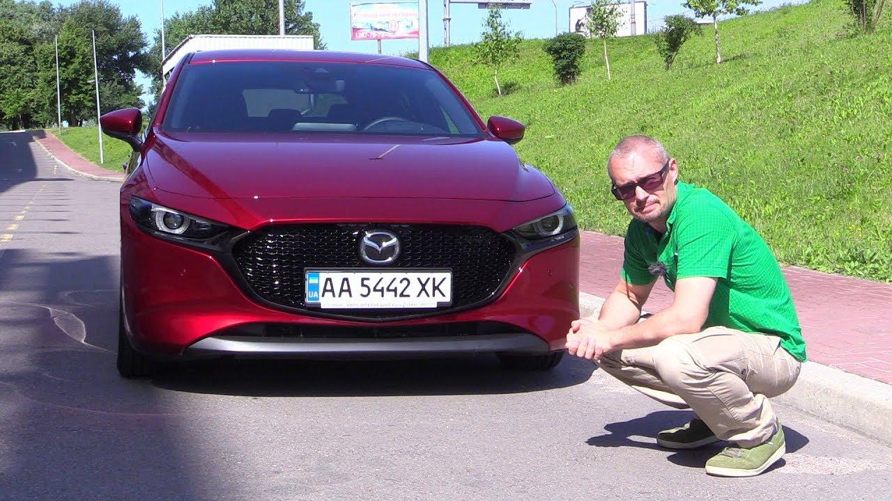 Новая Mazda 3 хэтчбек. Поедет ли красотка на нашем бензине?