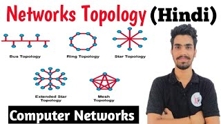 Network topology and its types ( Bus ,Ring , Star , Mesh , Tree ) in Hindi | Computer networks