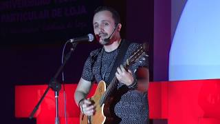 Víctima o creador | Israel Brito | TEDxUTPL