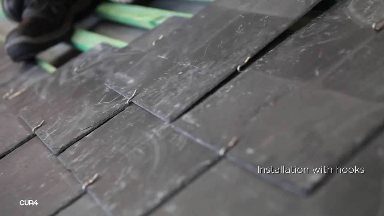 How To Install A Natural Slate Roof Youtube