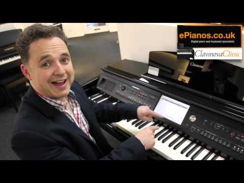 Clavinova Clinic (ep1) How to save your settings on the Yamaha CVP709 and CVP705