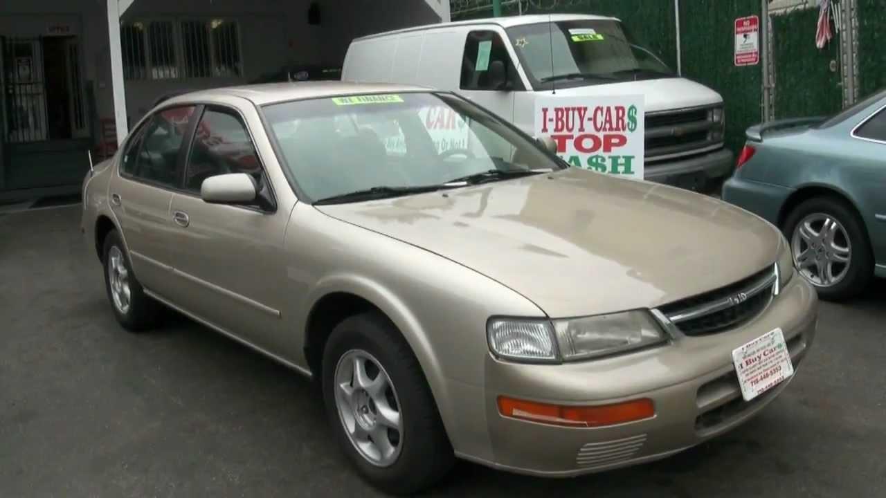Nissan Maxima Gxe 3 0 V6 Sedan