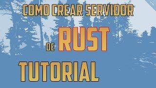 Cómo crear un servidor de Rust | En Español | 2017