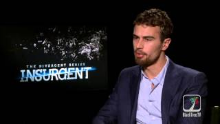 Insurgent's Theo James on the '69' and Kama Sutra not being in the movie