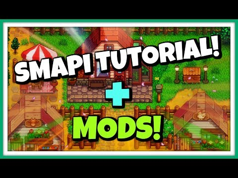 Stardew Valley - How To Install SMAPI & Cheat Mods! + CJB Item Spawner Showcase!