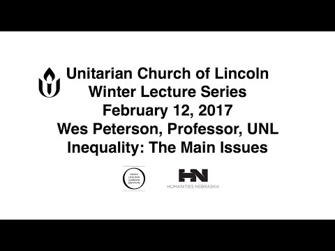 UU WLS February 12, 2017 Wes Peterson Inequality: An Overview of the Main Issues