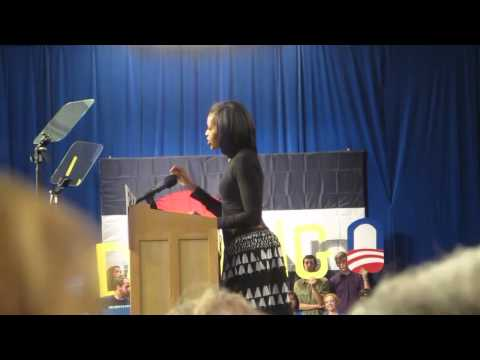 Oct. 10, 2012: Michelle Obama Speaks at Fort Lewis College