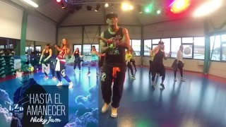 nicky jam   hasta el amanecer remix latin dance zumba® fitness