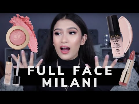 TRYING OUT MILANI COSMETICS