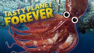 BLÄCFISKEN ÄTER PLAST | Tasty Planet Forever | #2