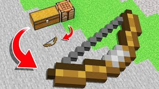 GIANT BOW vs REGULAR BOW in MINECRAFT!...