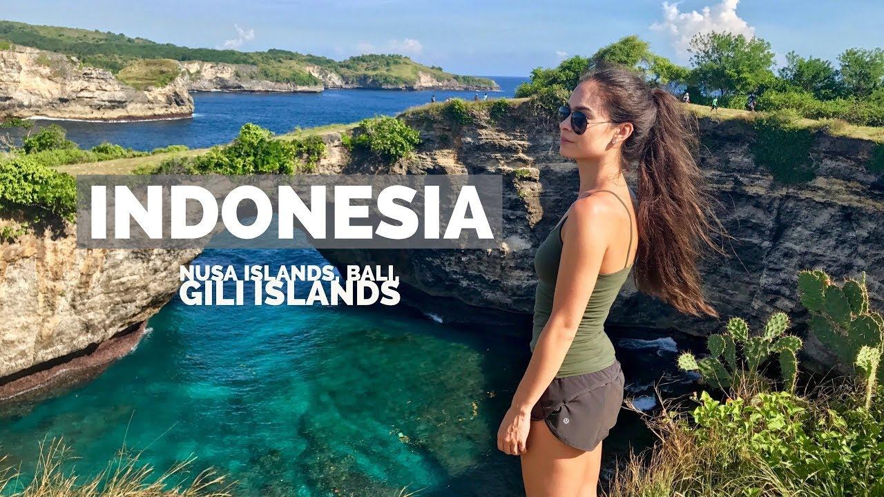 Indonesia Bali Nusa Islands Gili Islands Youtube