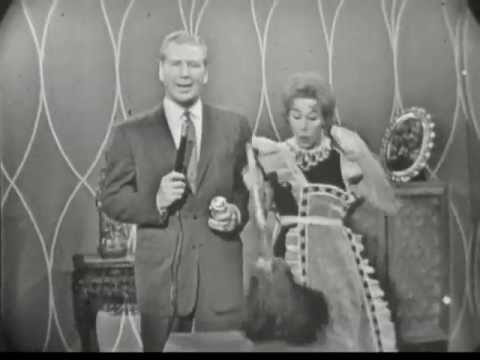 Rare Late 1950's Pledge Commercial featuring Carol Burnett and a great blooper!