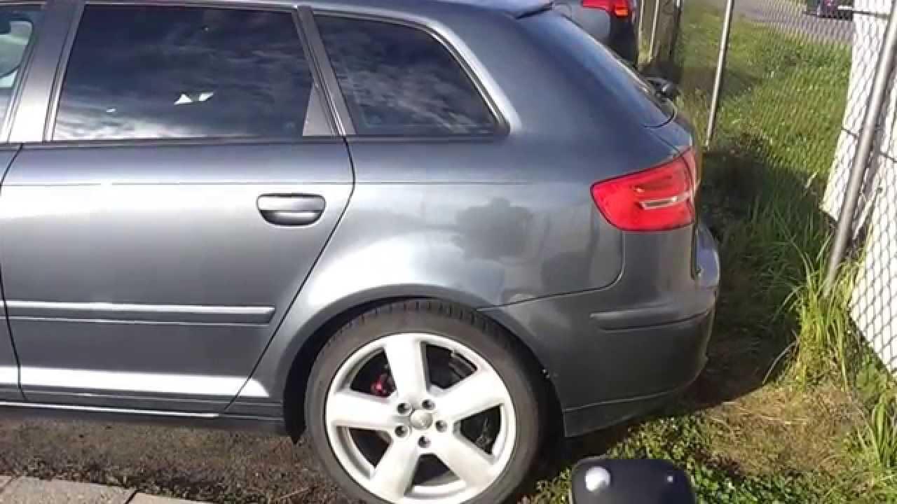 Audi A3 8p Sportback 2006 Automatyczne Otwieranie Klapy Youtube