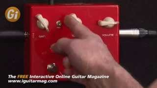 Vox Satchurator Distortion Pedal - Joe Satriani Pedal Review With Danny Gill Guitar Interactive