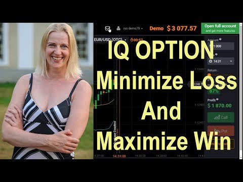 IQ Option Demo - minimize losses and maximize wins by each trading amount