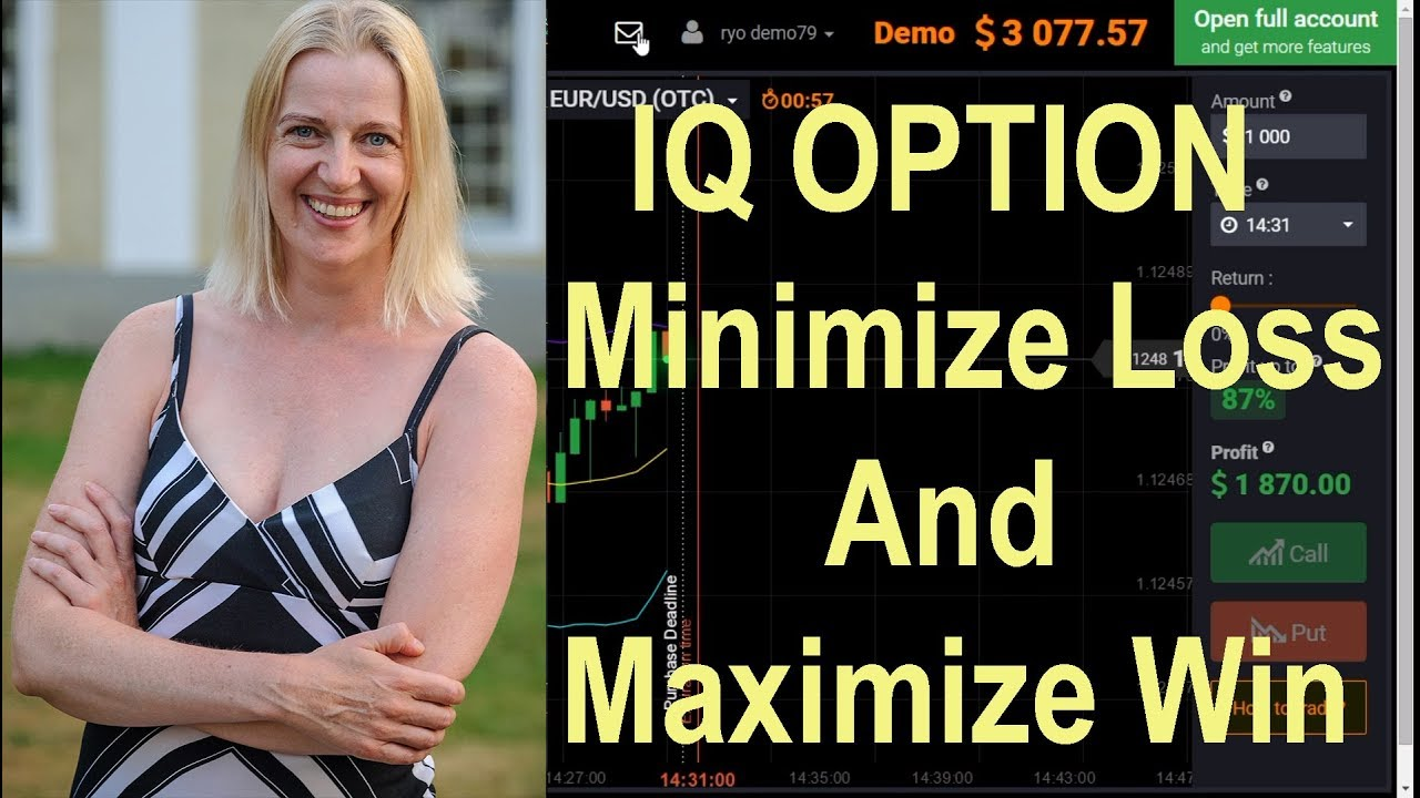 Iq options demo account