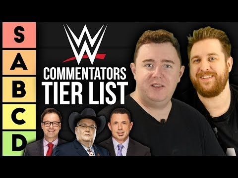 TIER List: WWE Commentators
