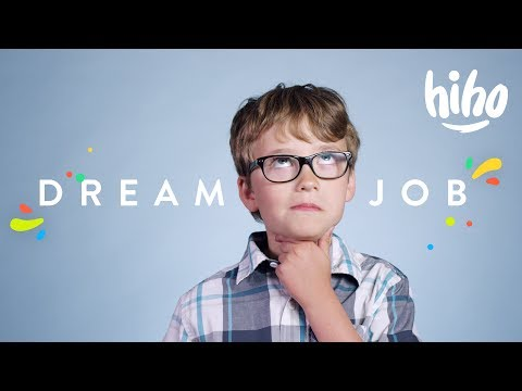 100 Kids Tell Us What They Want To Be When They Grow Up | 100 Kids | HiHo Kids
