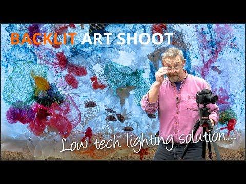 Backlit Art Shoot - Mike Browne