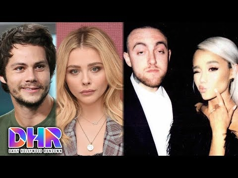 Dylan O'Brien & Chloe Grace Moretz DATING?!  Ariana Grande RESPONDS To Cheating Rumors DHR