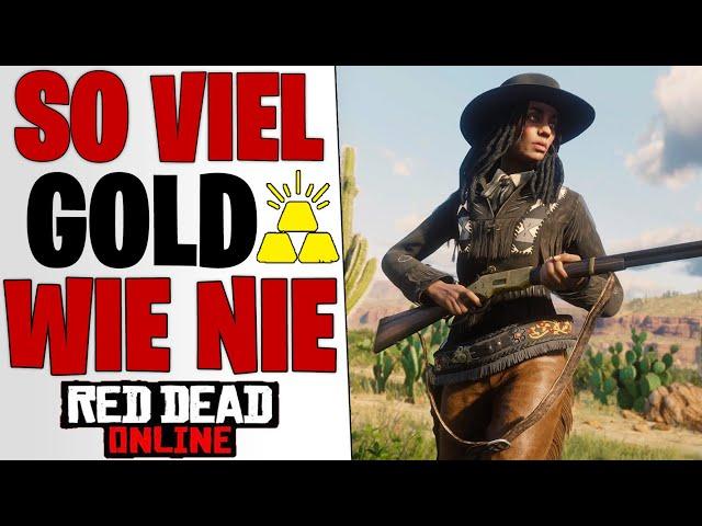 SO VIEL GOLD WIE NIE ZUVOR - Call to Arms Survival Tipps | Red Dead Redemption 2 Online deutsch
