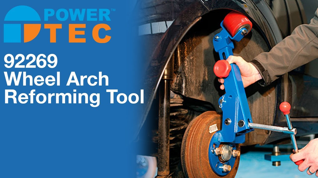 Power Tec 92269 Wheel Arch Reforming Tool Youtube