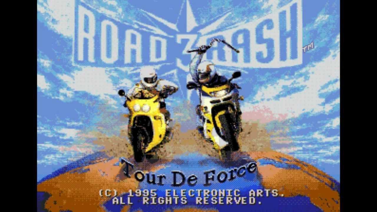 Road Rash 3 Прохождение (Sega) - Уровень (1-2) Part 1/3 ...