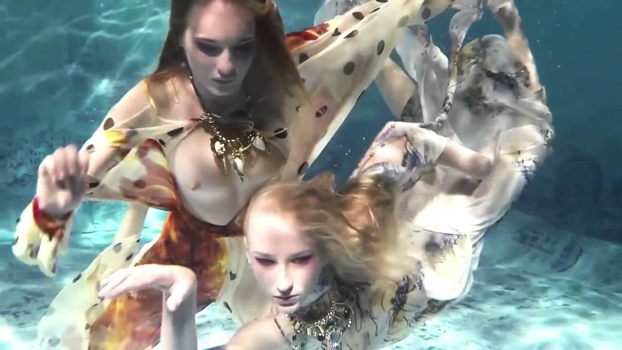 Underwater Fashion Show Harmagedon By Jana Nedzvetskaya Ss