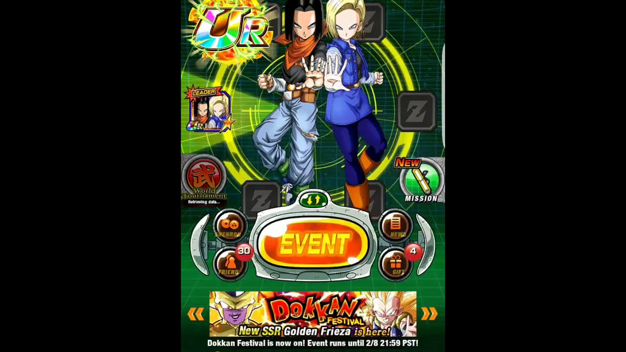 dragonball z dokkan battle lr androids are here global dragonball z dokkan battle lr androids are here global