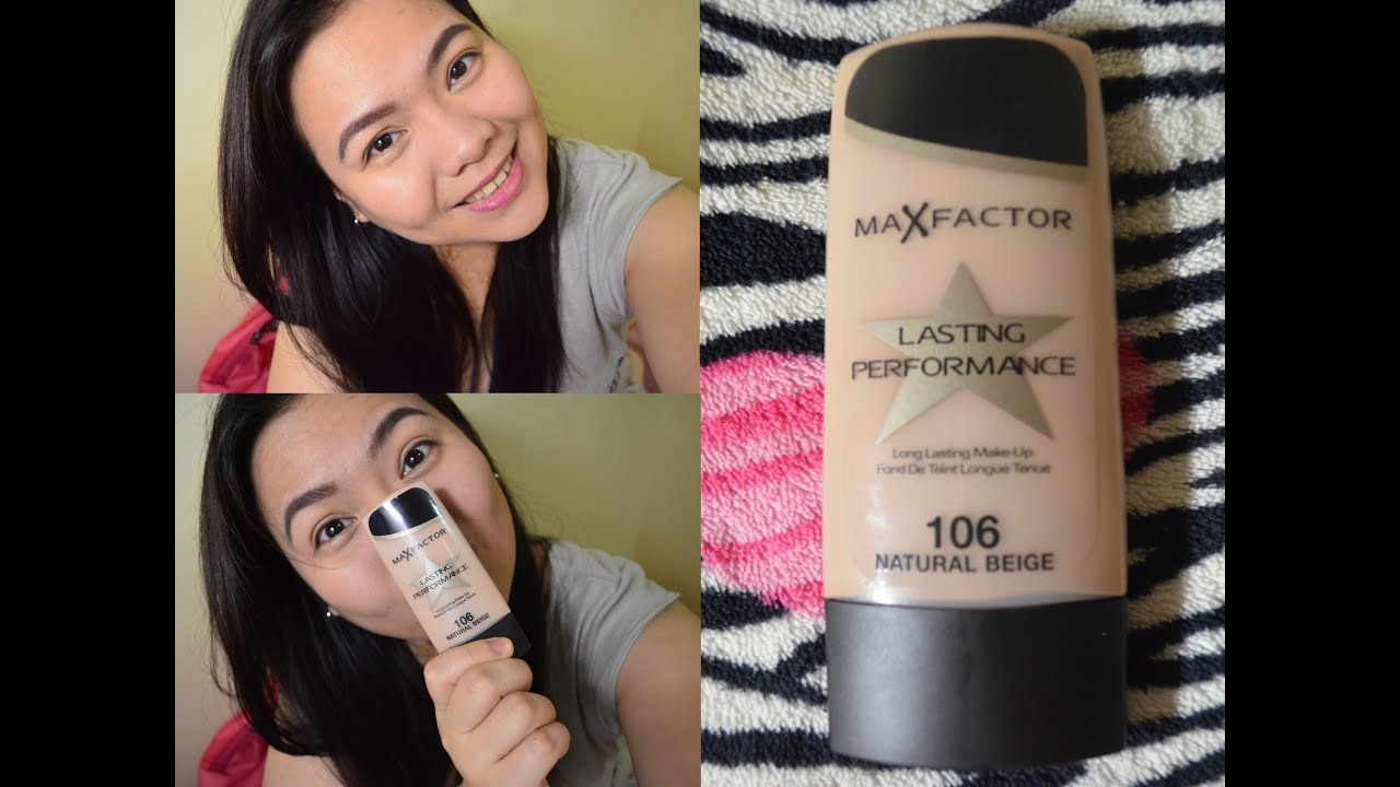 Max factor foundation 106