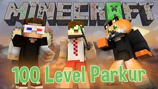 Minecraft 100 Parkur Haritası -1- Mükemmel Ötesi !!