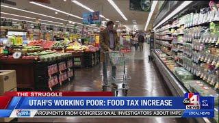 The Struggle of Utah's Working Poor: Food Tax Increase Proposal (4 p.m.)