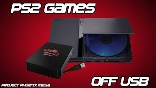 [How To] Play PS2 Games Off of USB Hard Drive Using OPL v.9 Tutorial! [CC]