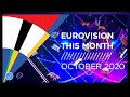 Eurovision This Month: October 2020