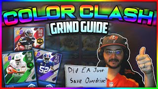 ULTIMATE GRIND GUIDE TO THE COLOR CLASH PROMO IN MADDEN NFL OVERDRIVE!